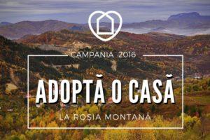 Adopta o casa Rosia Montana Stiri Turism